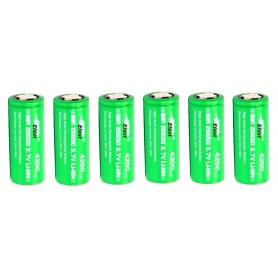 Efest - Efest IMR26650 Green 4200mAh 20A 3.7V onbeschermd - C D en XL formaat - NK140-6x www.NedRo.nl