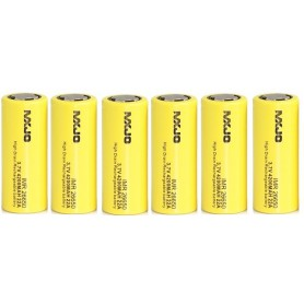 MXJO - MXJO IMR26650F 4200mAh 22A Unprotected - Size C D and XL - NK136-6x www.NedRo.us