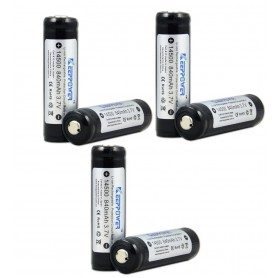KeepPower - KeepPower 14500 protected li-ion battery 3.7V - Other formats - NK089-6x www.NedRo.us