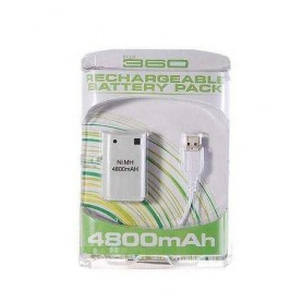 NedRo - Battery + Charger for XBOX 360 - Xbox 360 cables & batteries - YGX523-1 www.NedRo.us