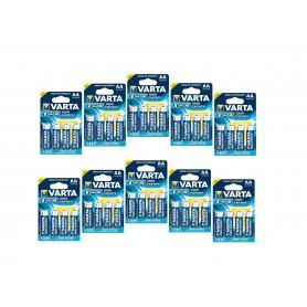 Varta - Varta Alkaline Batteries AA Mignon LR6 HR6 - Size AA - ON061-10x www.NedRo.us