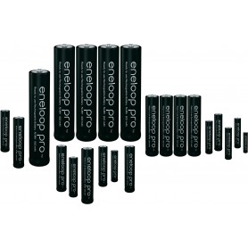 Eneloop - AAA R3 Panasonic Eneloop PRO Rechargeable Battery - Format AAA - NK055-60x www.NedRo.ro