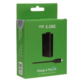NedRo - Play & Charge Kit voor XBOX One YGX605 - Xbox One - YGX605 www.NedRo.nl