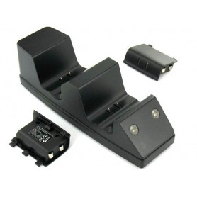 NedRo - Duo Charge Stand + 2 batterijen voor XBOX One - Xbox One - YGX603 www.NedRo.nl