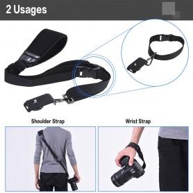 NedRo - Andoer snelle release soft camera schouder nek riem - Foto-video accessoires - AL628-C www.NedRo.nl