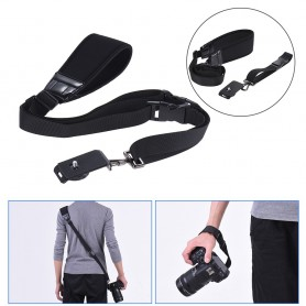 NedRo - Andoer rapid quick release soft camera shoulder sling neck strap - Photo-video accessories - AL628-C www.NedRo.us