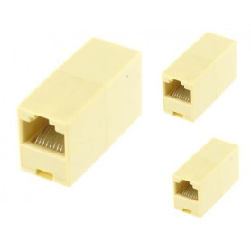 3 x RJ45 Koppeling 1:1 Verbinding
