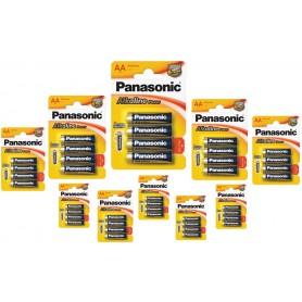 Panasonic - Panasonic Alkaline Power LR6/AA - Size AA - BL040-CB www.NedRo.us
