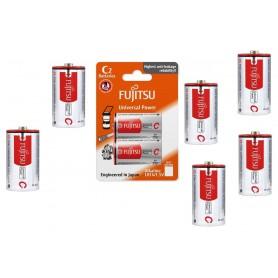 Fujitsu - LR14/C Fujitsu Universal Power - Size C D 4.5V XL - BL228-15x www.NedRo.us