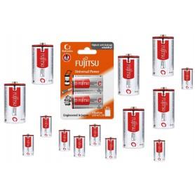Fujitsu - LR14/C Fujitsu Universal Power - Size C D 4.5V XL - BL228-30x www.NedRo.us