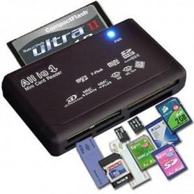 NedRo, Cititor de carduri de memorie USB extern SD SDHC Mini Micro M2 MMC XD CF, Memorie SD si USB, AL644, EtronixCenter.com