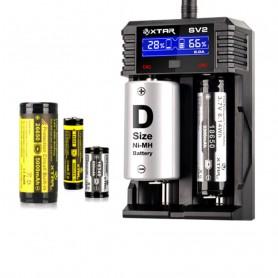 XTAR - XTAR ROCKET SV2 battery charger EU Plug - Battery chargers - NK193-C www.NedRo.us