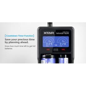 XTAR VC2 Plus Master batterij-oplader