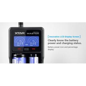 XTAR - XTAR VC2 Plus Master incarcator baterii - Încărcătoare de baterii - NK194 www.NedRo.ro
