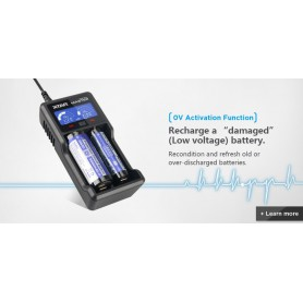 XTAR, XTAR VC2 Plus Master incarcator baterii, Încărcătoare de baterii, NK194, EtronixCenter.com