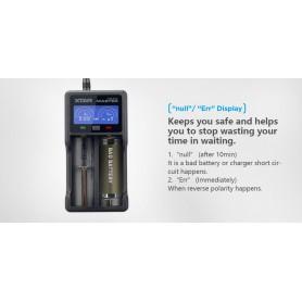 XTAR - XTAR VC2 Plus Master batterij-oplader - Batterijladers - NK194 www.NedRo.nl
