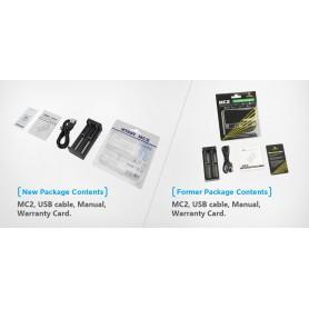 XTAR - XTAR MC2 USB battery charger - Battery chargers - NK197-C www.NedRo.us