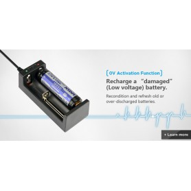 XTAR - XTAR MC2 USB batterij-oplader - Batterijladers - NK197-C www.NedRo.nl