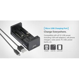 XTAR, XTAR MC2 USB batterij-oplader, Batterijladers, NK197, EtronixCenter.com