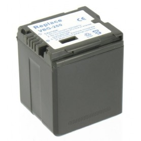 NedRo, Battery compatible with Panasonic VW-VBG260 With Charger, Panasonic photo-video batteries, V188