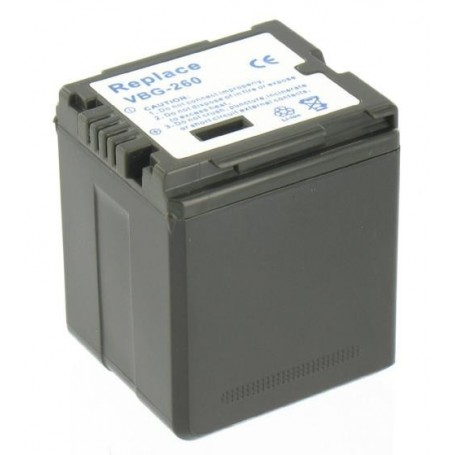 NedRo - Battery compatible with Panasonic VW-VBG260 With Charger - Panasonic photo-video batteries - V188 www.NedRo.us