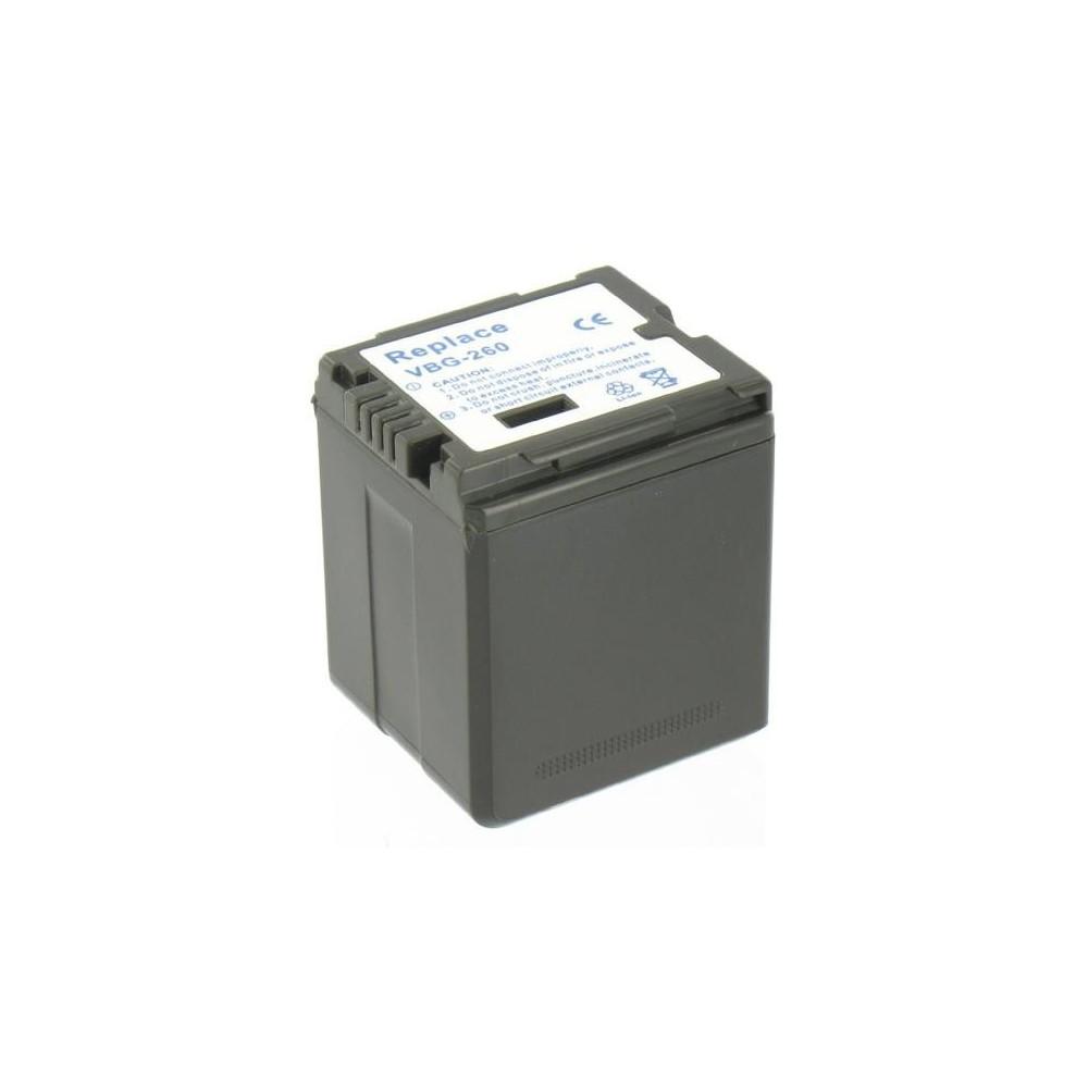 Accu Batterij compatible met Panasonic VW-VBG260 Met Lader