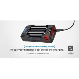 XTAR, XTAR VP2 batterij-oplader, Batterijladers, NK199, EtronixCenter.com