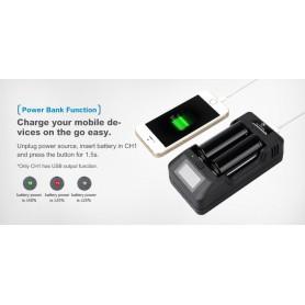 XTAR - XTAR VP2 battery charger EU-Plug - Battery chargers - NK199