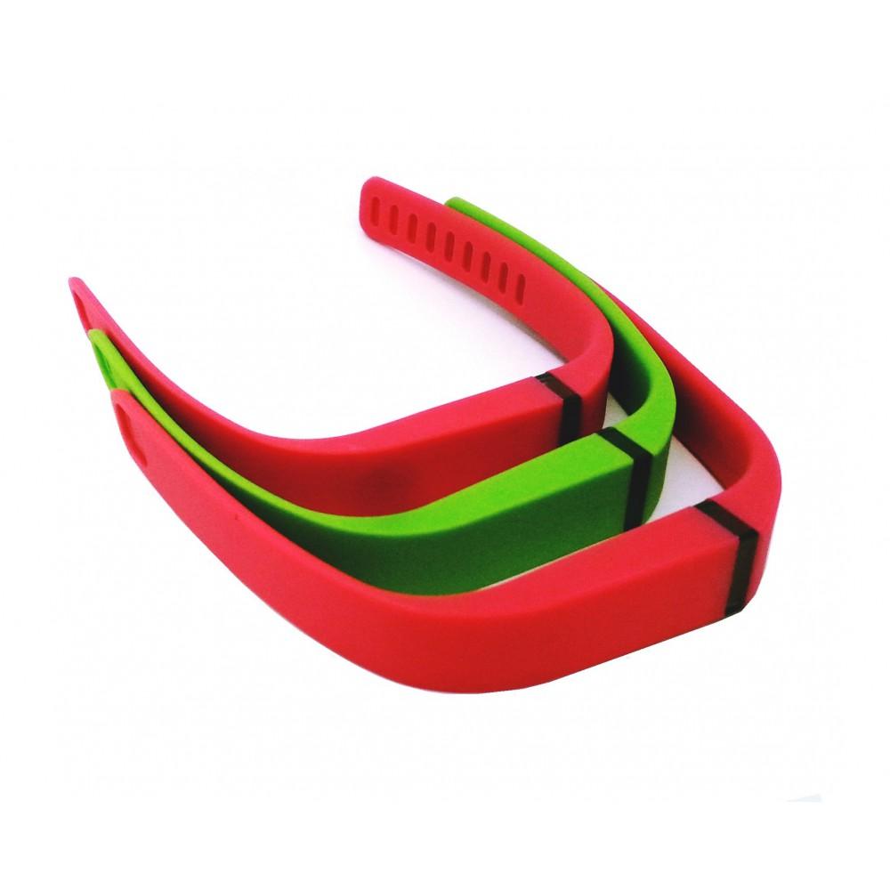 Set van 3 TPU armband voor Fitbit Flex maat L