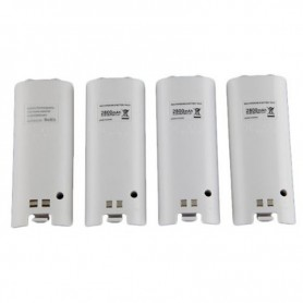 NedRo, USB charging station with 4 batteries for Wii controllers, Nintendo Wii, AL753-CB, EtronixCenter.com