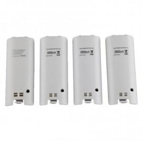 NedRo - USB Oplaadstation met 4 accu's voor Wii controllers - Nintendo Wii - AL753 www.NedRo.nl