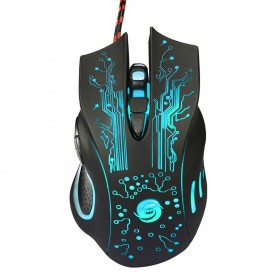 NedRo - 3200DPI LED Optical 6 Buttons 6D USB Wired Gaming Mouse - Overige computer accessoires - AL756 www.NedRo.nl