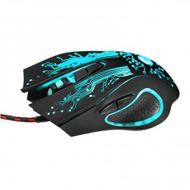 NedRo - 3200DPI LED Optical 6 Buttons 6D USB Wired Gaming Mouse - Various computer accessories - AL756 www.NedRo.us