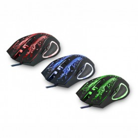 2400DPI LED Optical 6D USB Wired Gaming Mouse
