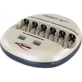 Ansmann, Încărcător Ansmann Energy 16 plus, Încărcătoare de baterii, Energy16plus, EtronixCenter.com