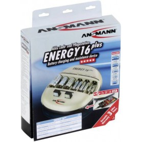 Ansmann, Ansmann Energy 16 plus batterijlader, Batterijladers, Energy16plus, EtronixCenter.com