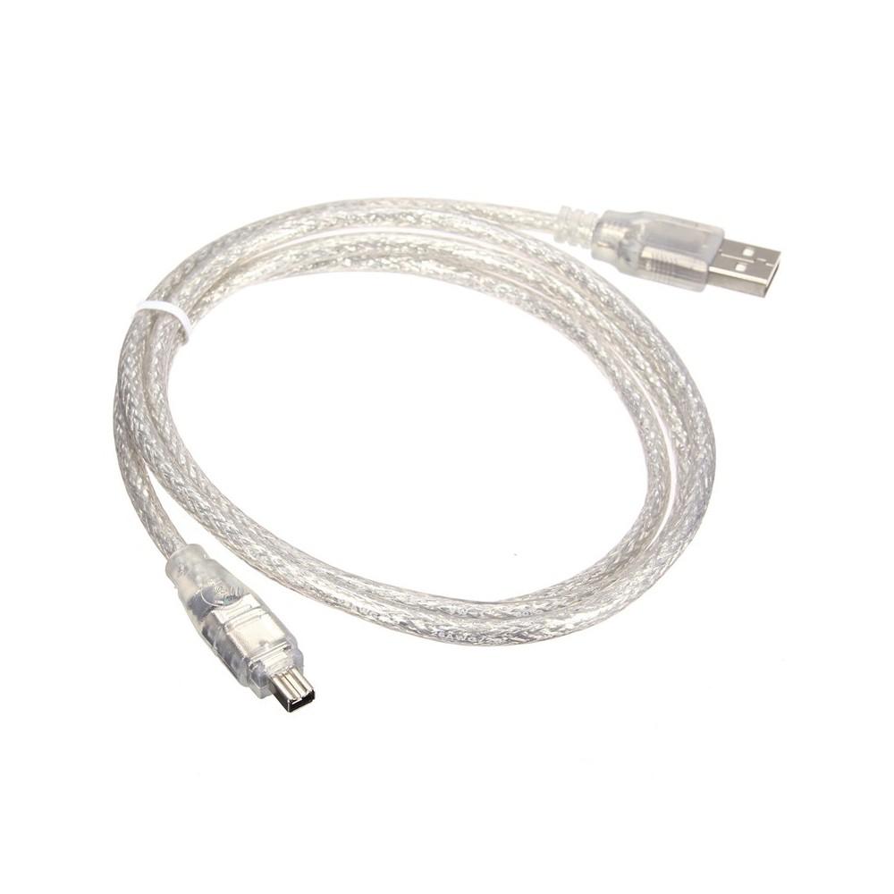 USB naar Firewire 4pin kabel 120cm