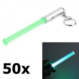 NedRo - Mini LED LightSaber keychain - Flashlights - LED06041-50x www.NedRo.us