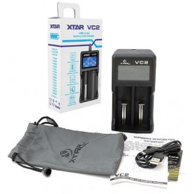 XTAR, XTAR VC2 USB batterij-oplader, Batterijladers, NK198, EtronixCenter.com