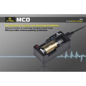 XTAR - XTAR MC0 USB batterij-oplader - Batterijladers - NK205 www.NedRo.nl