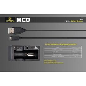 XTAR, XTAR MC0 USB batterij-oplader, Batterijladers, NK205, EtronixCenter.com