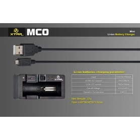 XTAR - XTAR MC0 USB battery charger - Battery chargers - NK205 www.NedRo.us