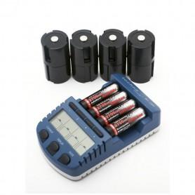 Techno Line, Technoline BC1000 lader (met 4 AA batterijen), Batterijladers, BC1000, EtronixCenter.com
