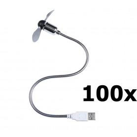 Unbranded - USB Fan Ventilator voor PC en Laptop - Computer gadgets - YPU402-100x www.NedRo.nl