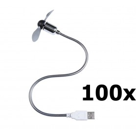 Unbranded - USB Fan for notebook and PC - Computer gadgets - YPU402-100x www.NedRo.us