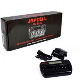 Japcell - Japcell BC-800 încărcător de baterii cu 8 canale - Încărcătoare de baterii - BC800 www.NedRo.ro