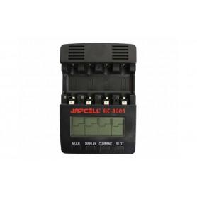 Japcell - 4 kanaals Japcell BC-4001 batterijenlader - Batterijladers - BC4001 www.NedRo.nl