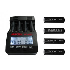 Japcell, Japcell BC-4001 încărcător de baterii cu 4 canale, Încărcătoare de baterii, BC4001, EtronixCenter.com