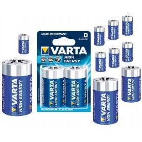 Varta - Baterii Varta Alcaline D / Mono / LR20 4920 - Format C D 4.5V XL - ON064-C www.NedRo.ro