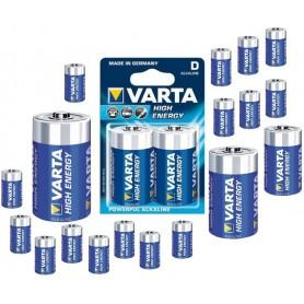 Varta - Varta Alkaline Battery D / Mono / LR20 4920 - Size C D 4.5V XL - ON064-20x www.NedRo.us
